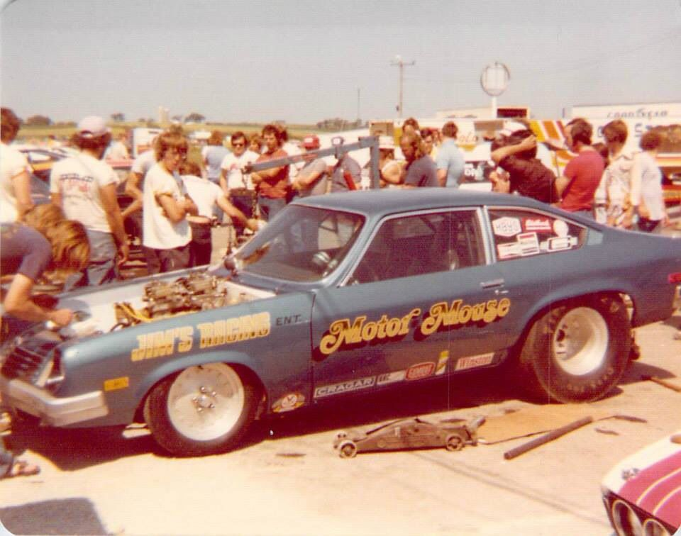 Vintage Drag Racing - Pro Stock - The Motor Mouse Vega | All about ...