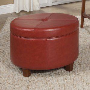 Winstonlarge Round Storage Ottoman