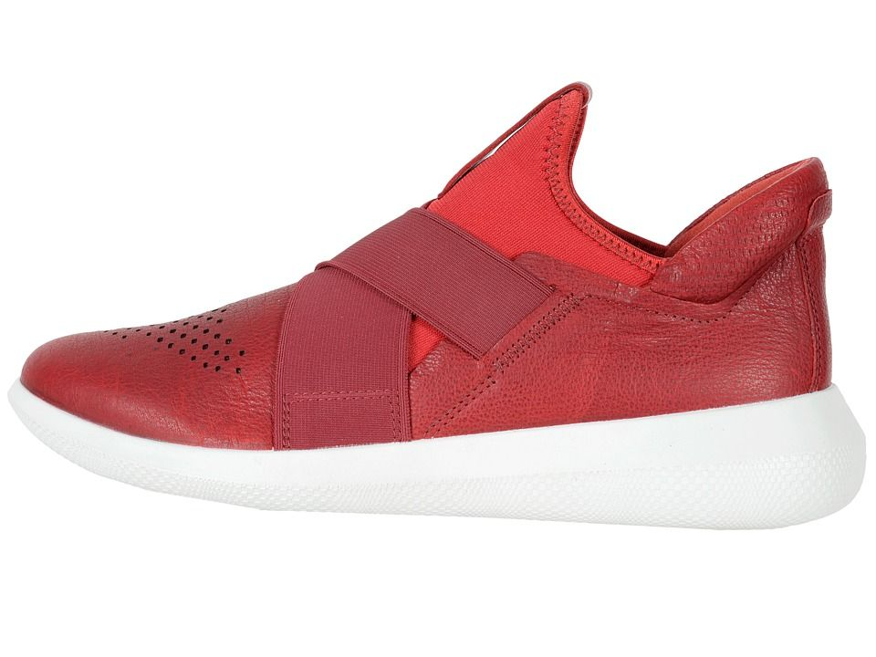 6edd194c37 ECCO Scinapse Band Women's Shoes Chili Red/Chili Red Yak Leather ...