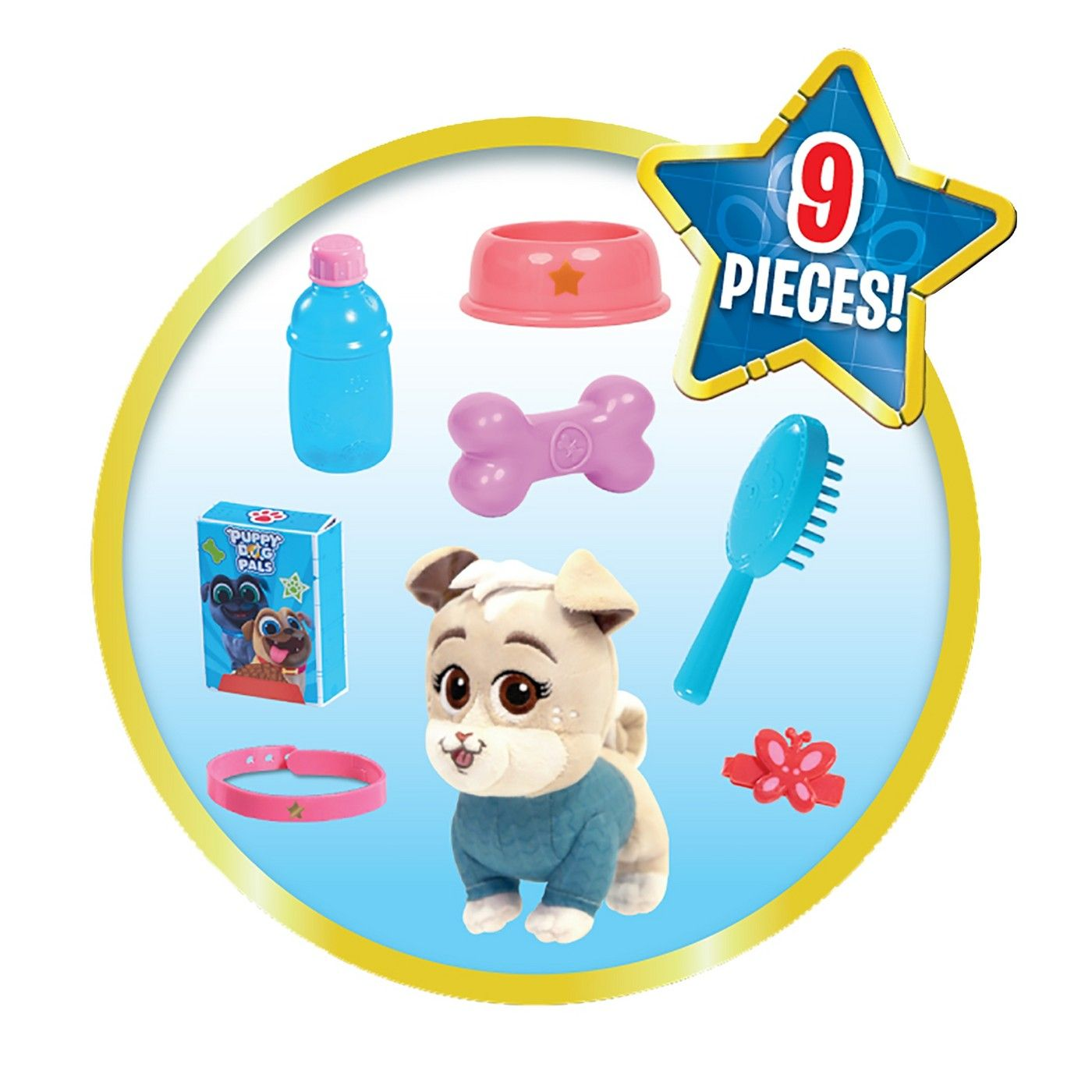 Disney Junior Puppy Dog Pals Groom and Go Carrier Keia Brand New Kid Toy Gift
