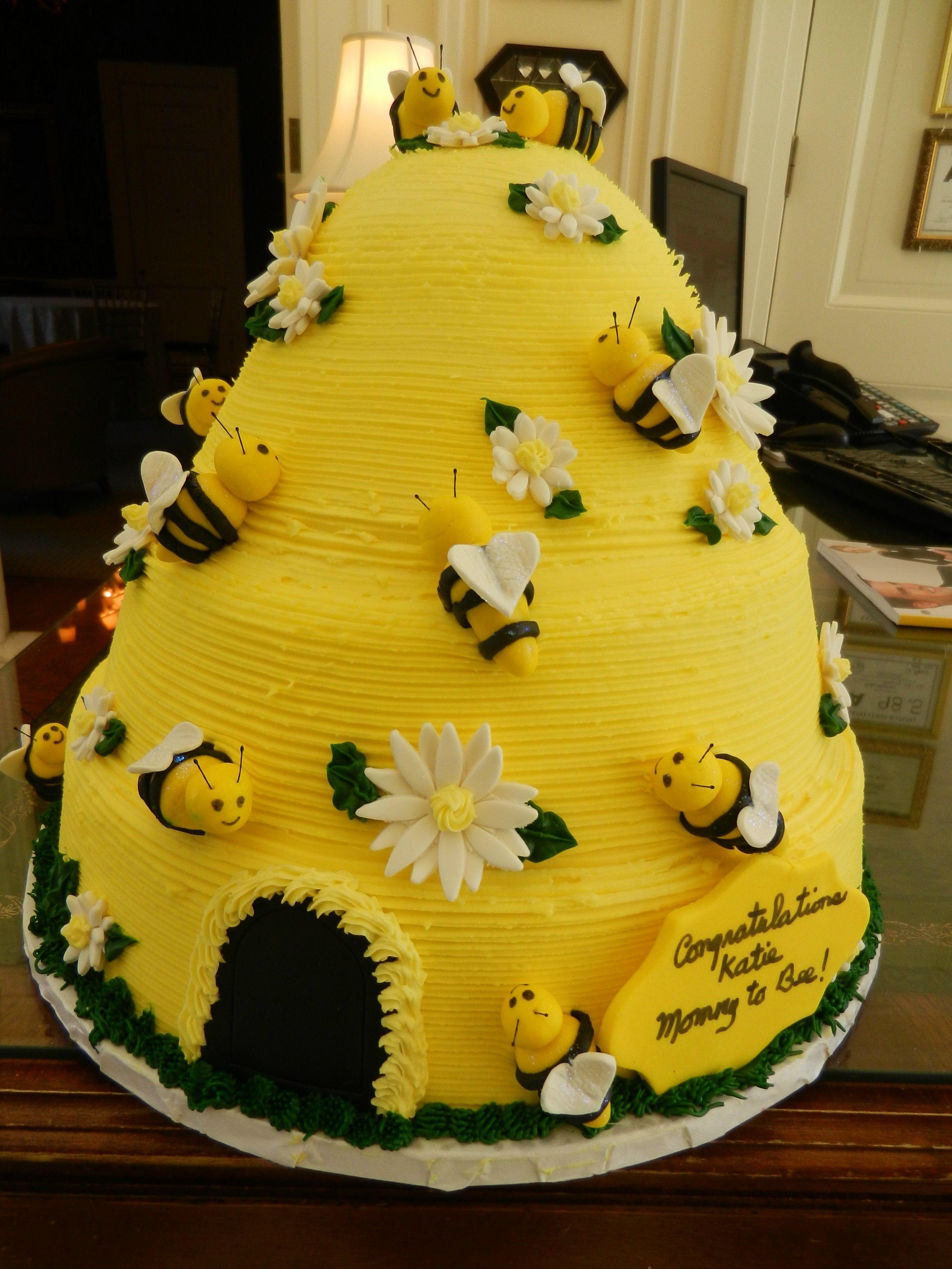 Bee Hive Baby Shower Cake Cheesecakeetcz Wedding Cakes