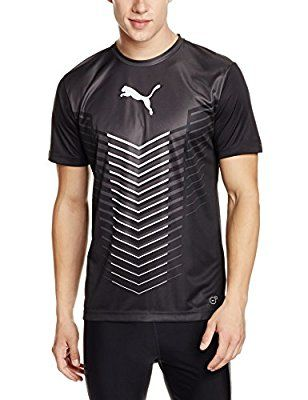 Puma Men's Round Neck Synthetic T Shirt on Amazon | Puma