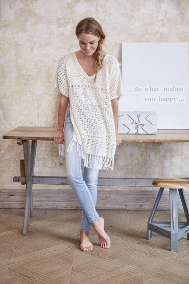 Poncho-Shirt Damen, S10171B | Schachenmayr | Knitting | Pinterest ...