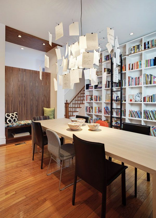 Library dining room design ideas pictures remodel and decor