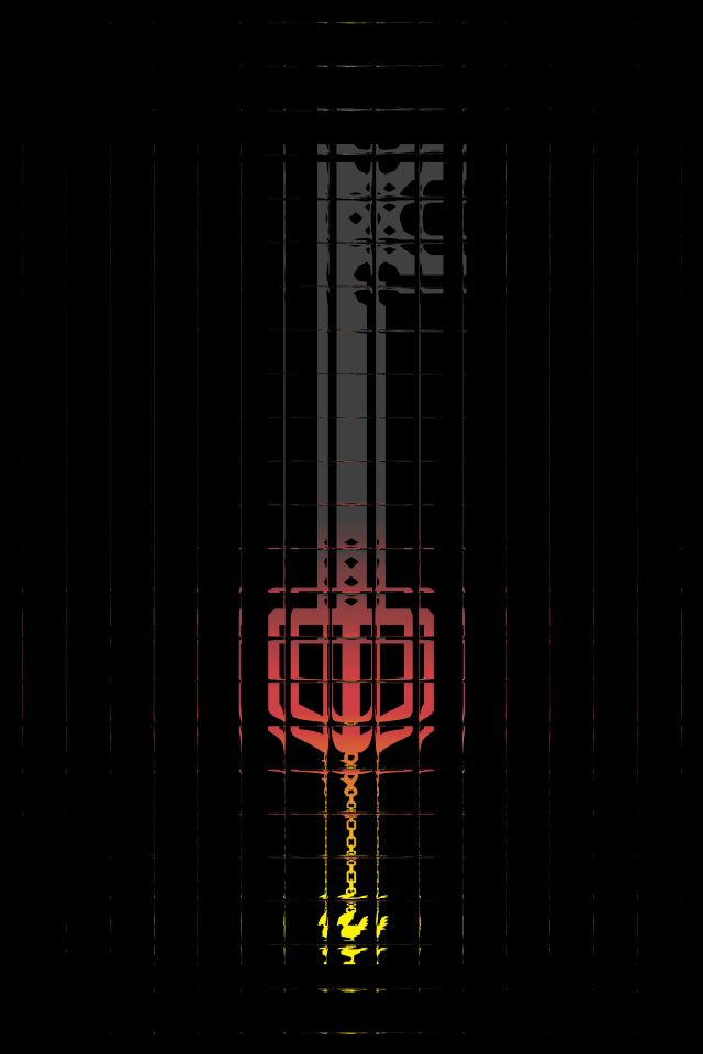 Keyblade Phone Wallpaper Found On A Reddit From A Google Search