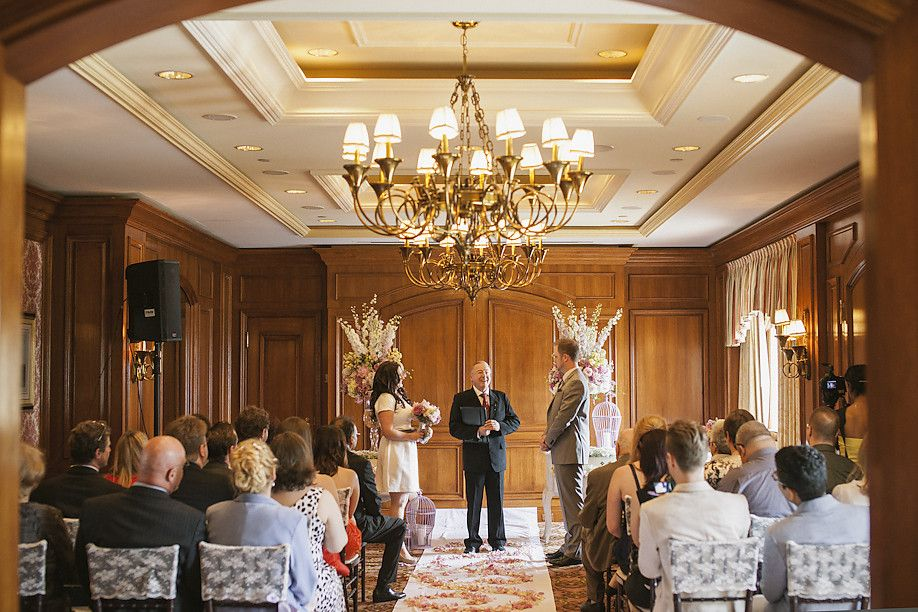 Erika And Ryan S Intimate Wedding At The Fairmont Royal York