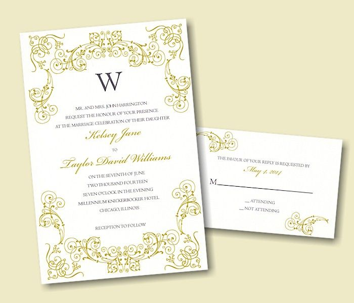 Create Your Own Wedding Invitation Suite 75 Create Your Own