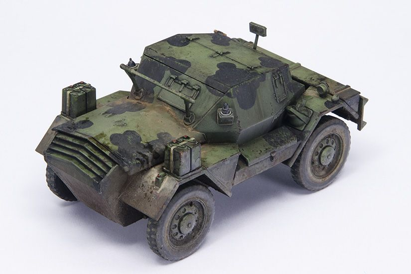 Daimler Dingo 1 48 With Images Military Vehicles Armored