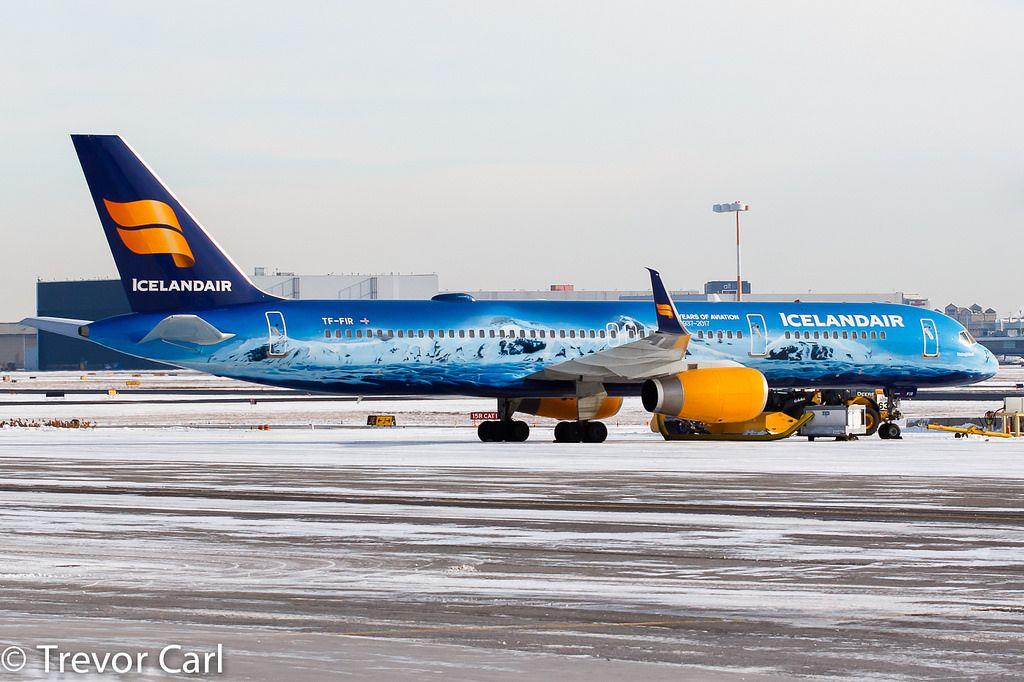 Iceland Air Tf Fir Boeing 757 256 Yyz Cyyz Iceland Air Aviation Airplane Boeing