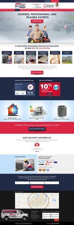 26 Hvac Website Template 78 Best Hvac Heating And Ac Clients Custom Website Design Images Hvac Websi Custom Website Design Website Template Business Template