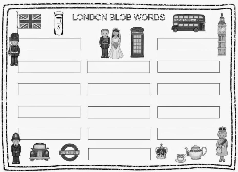 Ideenreise Blog Zusatzmaterial Zum Englischpaket London Gastmaterial Englisch Grundschule London Ideenreise