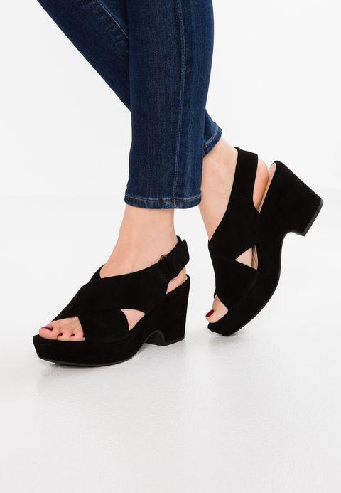 MARITSA à LARA Sandales à MARITSA plateforme negro in 2018 Zapatos a13c9c