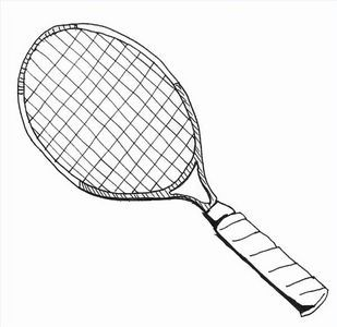 How To Draw A Tennis Racquet Ehow Tennis Racquet Tennis Racquets