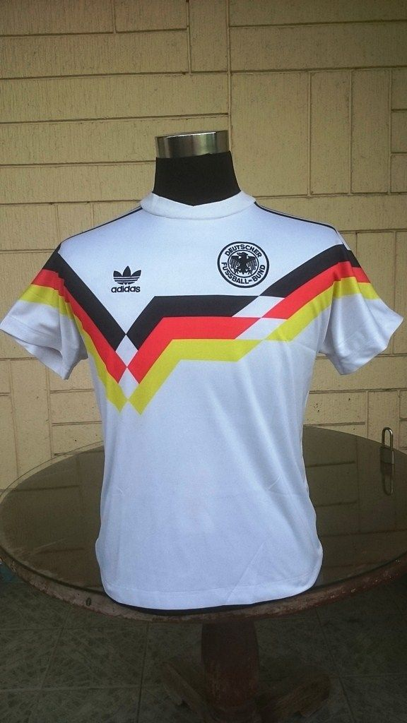 Germany 1990 World Cup Champion 3rd Title Pre Unification West Germany Home Jersey Shirt Trikot Memorabilia Collec Germany Shirt World Cup Champions Jersey