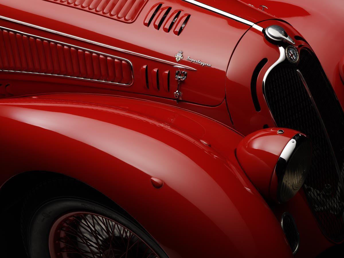1938 Alfa Romeo 8c 2900b Mille Miglia Spider  Avec Images