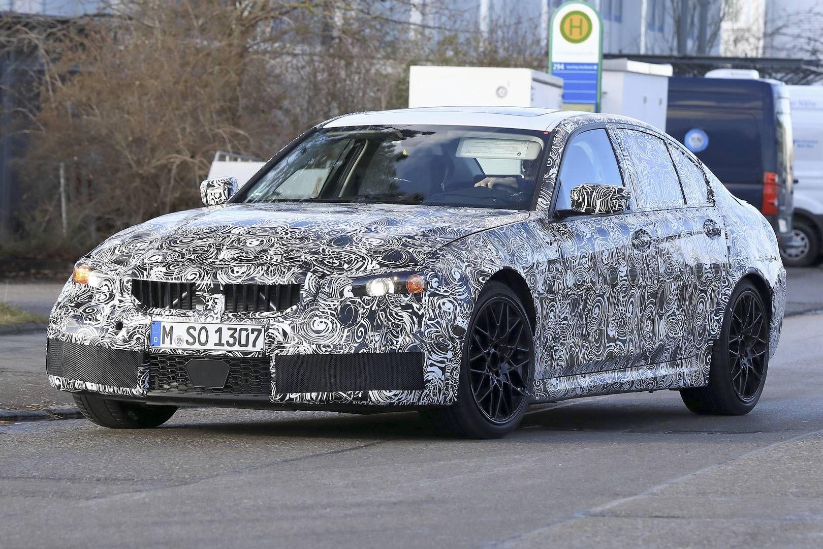 2020 Spy Shots BMW 3 Series Exterior