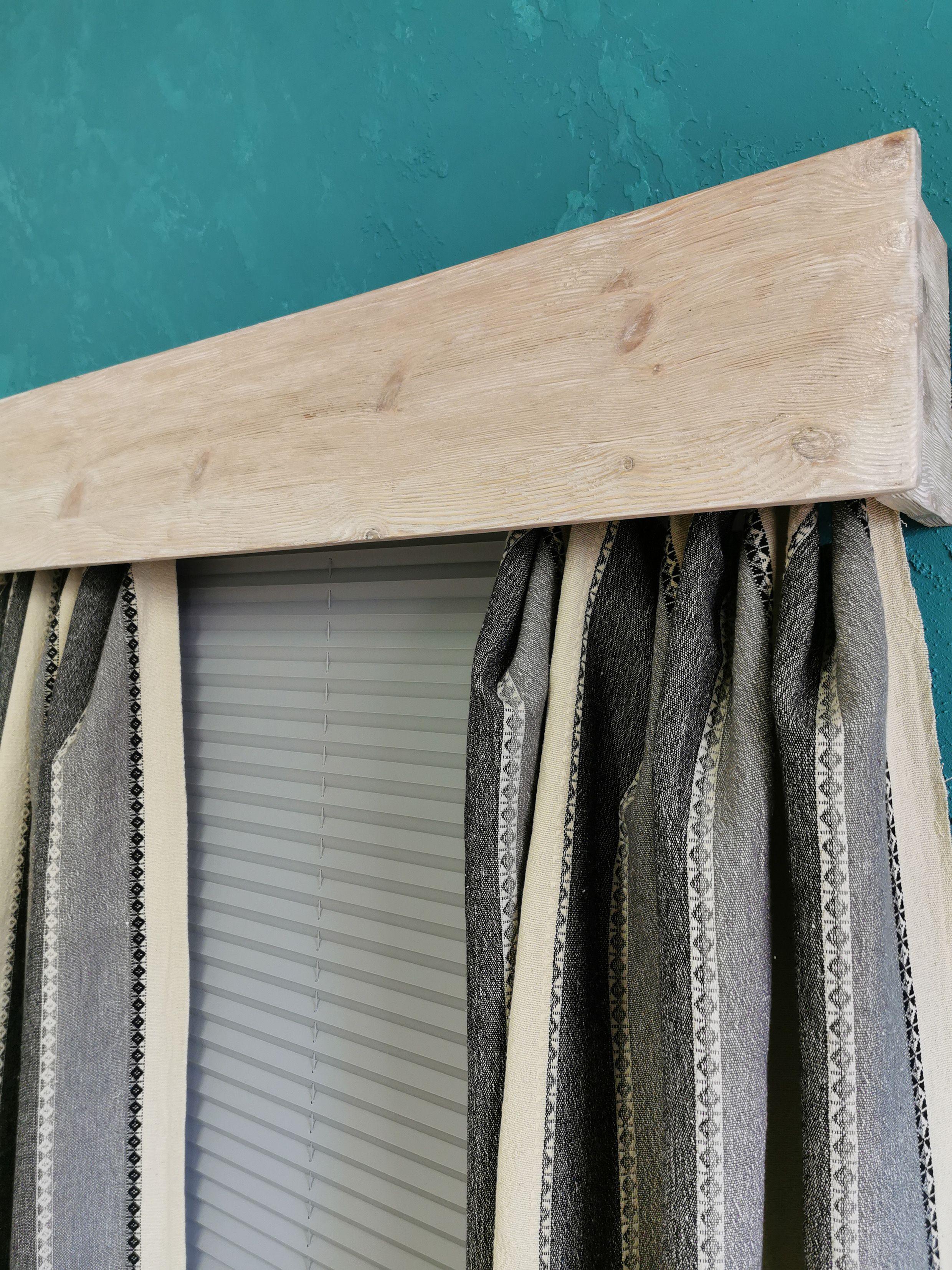 Window Valance Curtain Valance Wood Cornice Board Rustic Window