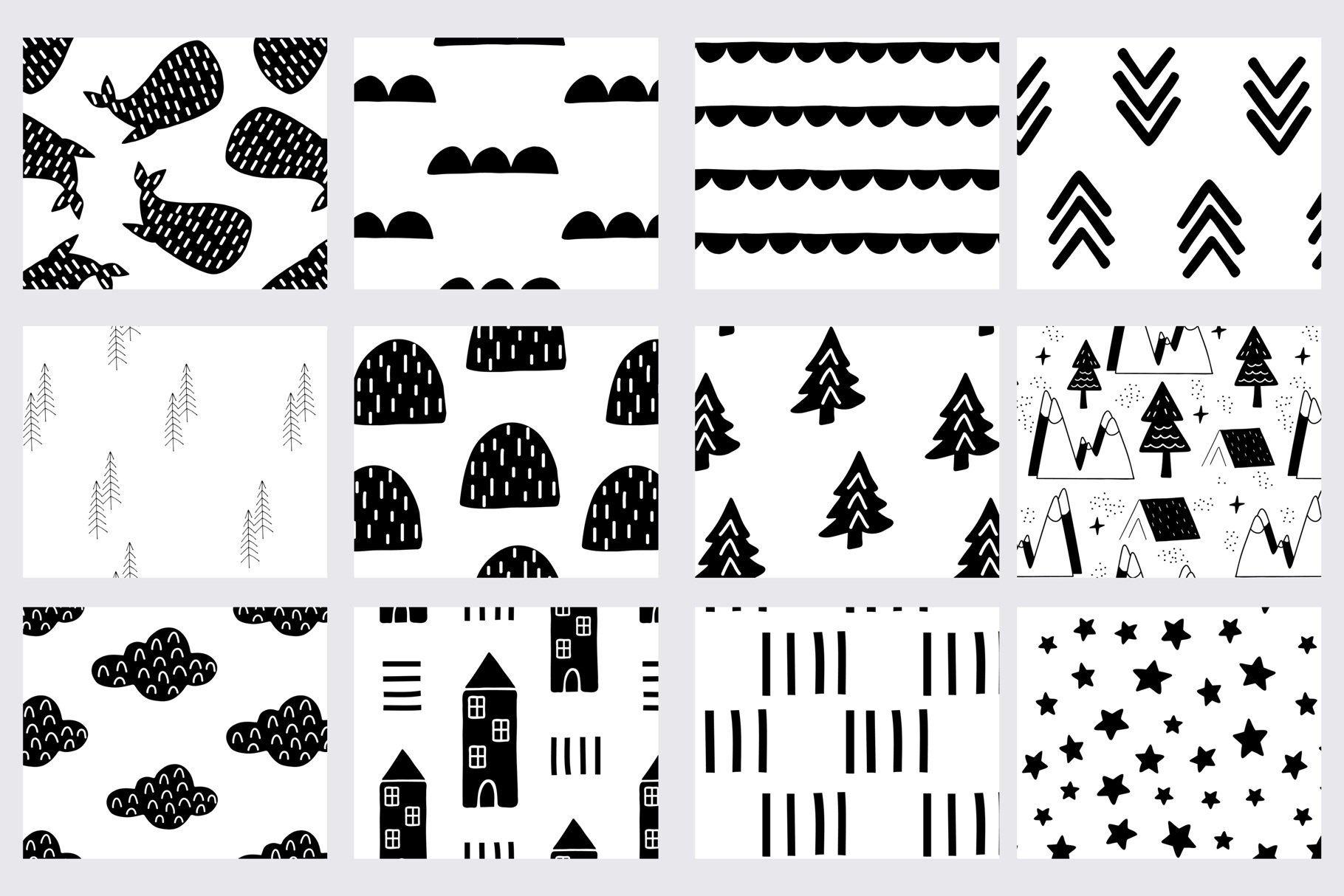 Patterns For Kids Scandi Style Scandi Style Kids Design Pattern