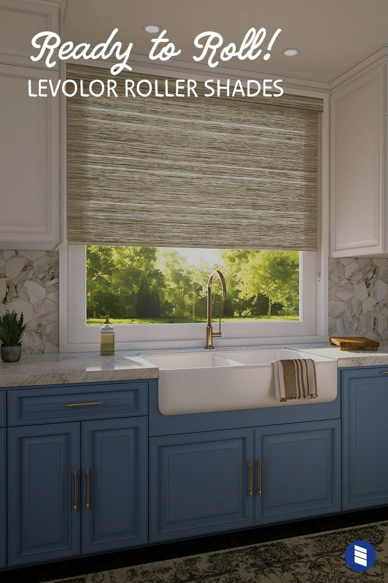 Ready To Roll New Levolor Roller Shades Only At Blinds Com