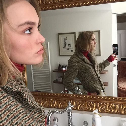 Lily-Rose and Jack Depp