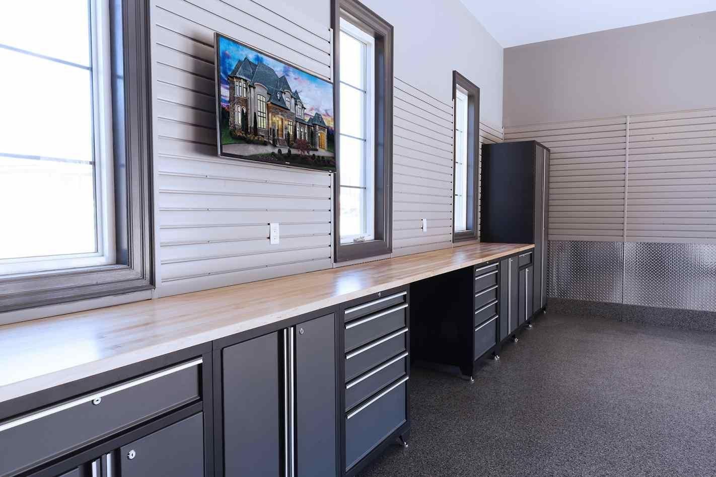 Custom Metal Garage Cabinets, garage shelf plans overhead ...