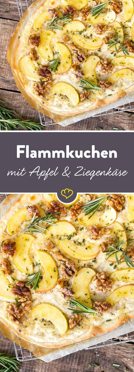 Das Elsässer Original – so backst du hauchdünnen Flammkuchen #zucchinipastarecipes