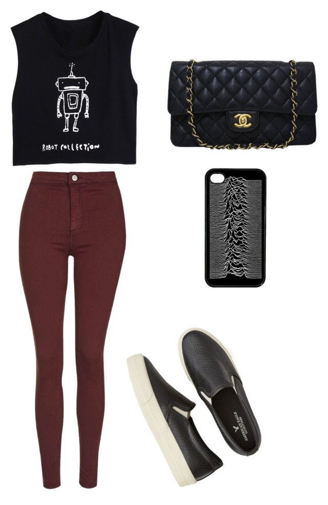 """Untitled #26"" by beatrizpereira-5 ❤ liked on Polyvore featuring Topshop, Chanel, American Eagle Outfitters, women's clothing, women's fashion, women, female, woman, misses and juniors"