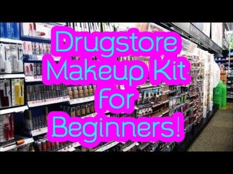 makeup starter kit for beginners  from the drugstore
