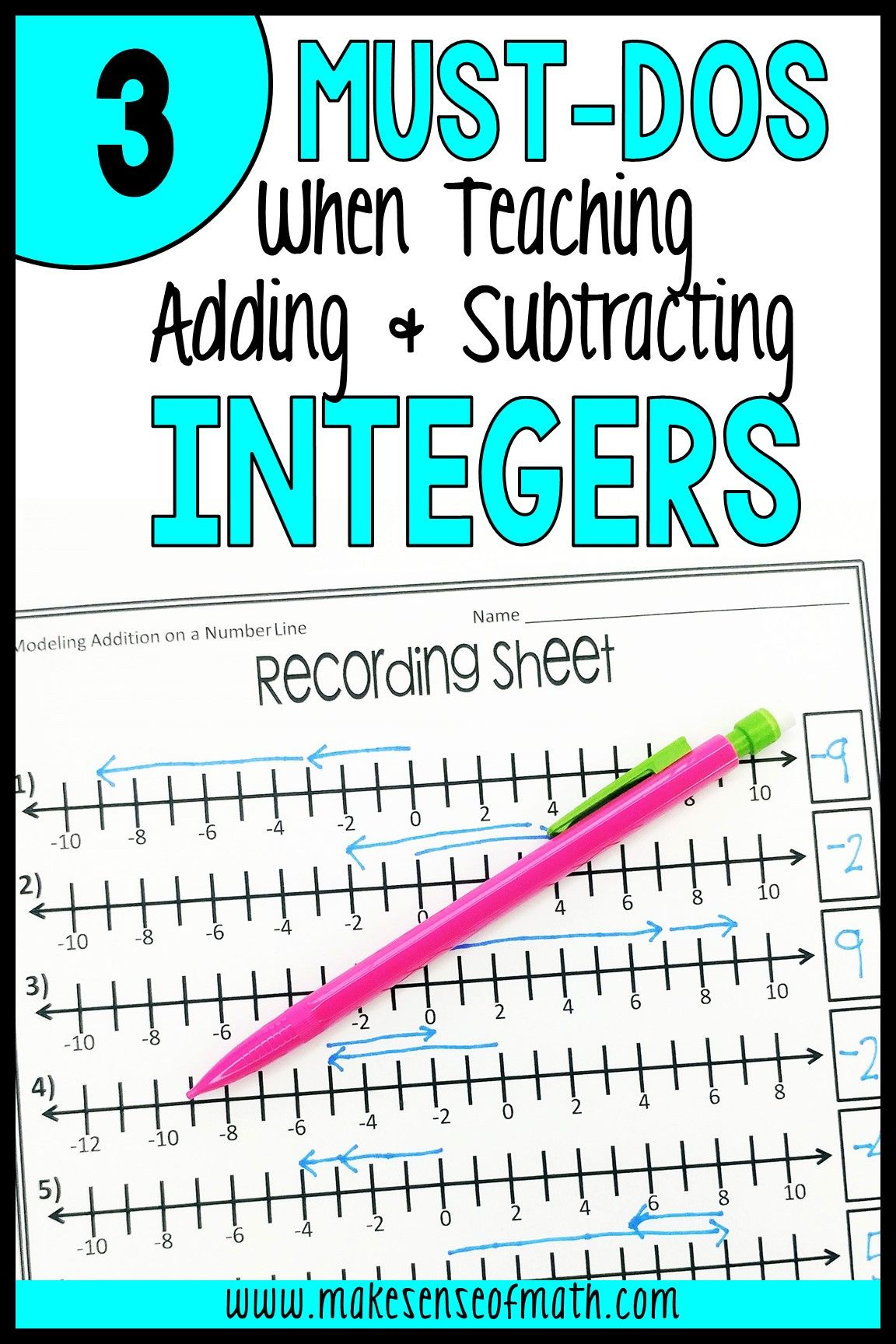 Great Ideas On How To Teach Adding And Subtracting