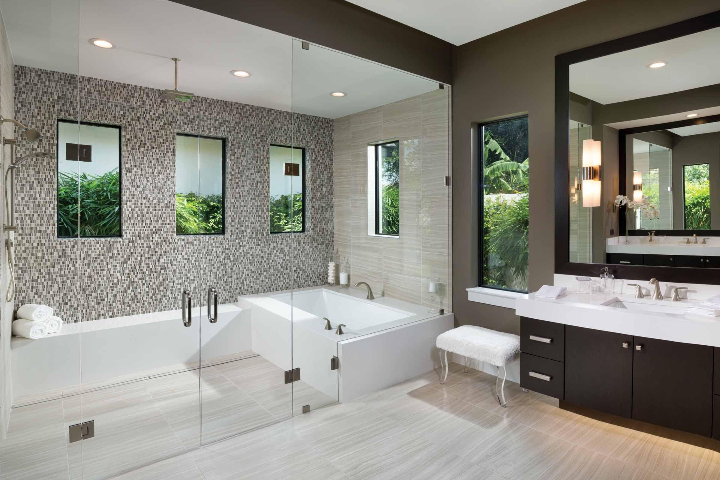 Wet Room Bathroom Master Bedroom Bathroom Master Baths Tub Shower bo Bathtub