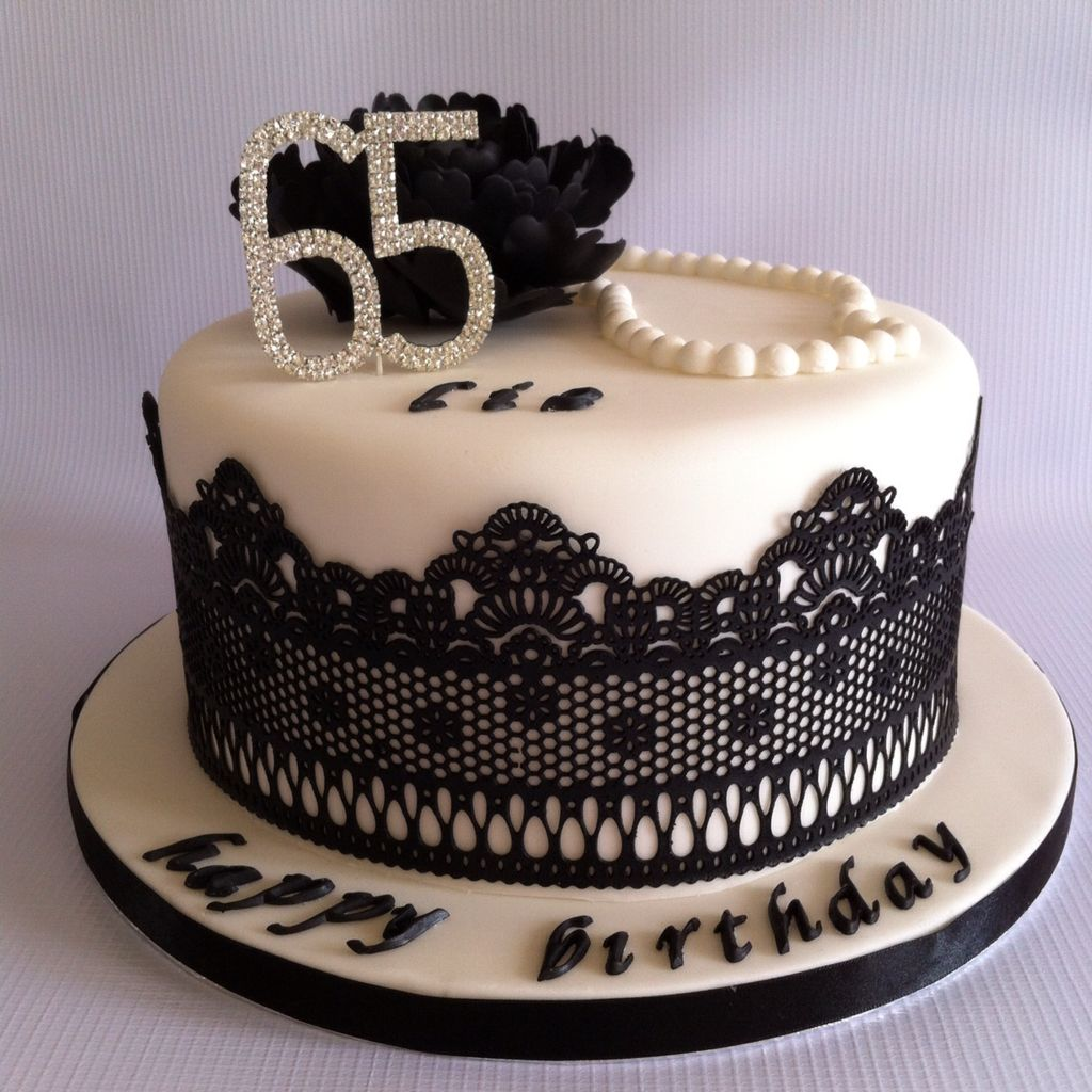 Cake for liz 39 s 65th birthday pinteres for 65th birthday party decoration ideas