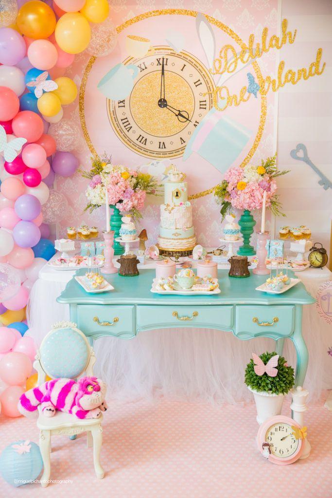 Alice in Wonderland Tea Party | Kara's Party Ideas