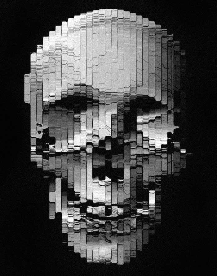 ☆ Skull :: By Aerosyn-Lex Mestrovic is a Designer, Typographer & Creative Director of The KDU ☆