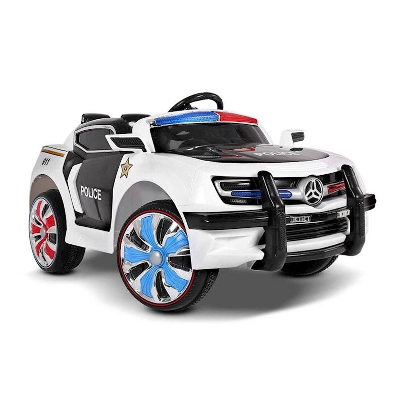 Kids Electric Ride On Car Style Remote Control Toy Car Police Kids Ride On Kids Police Car Toy Car