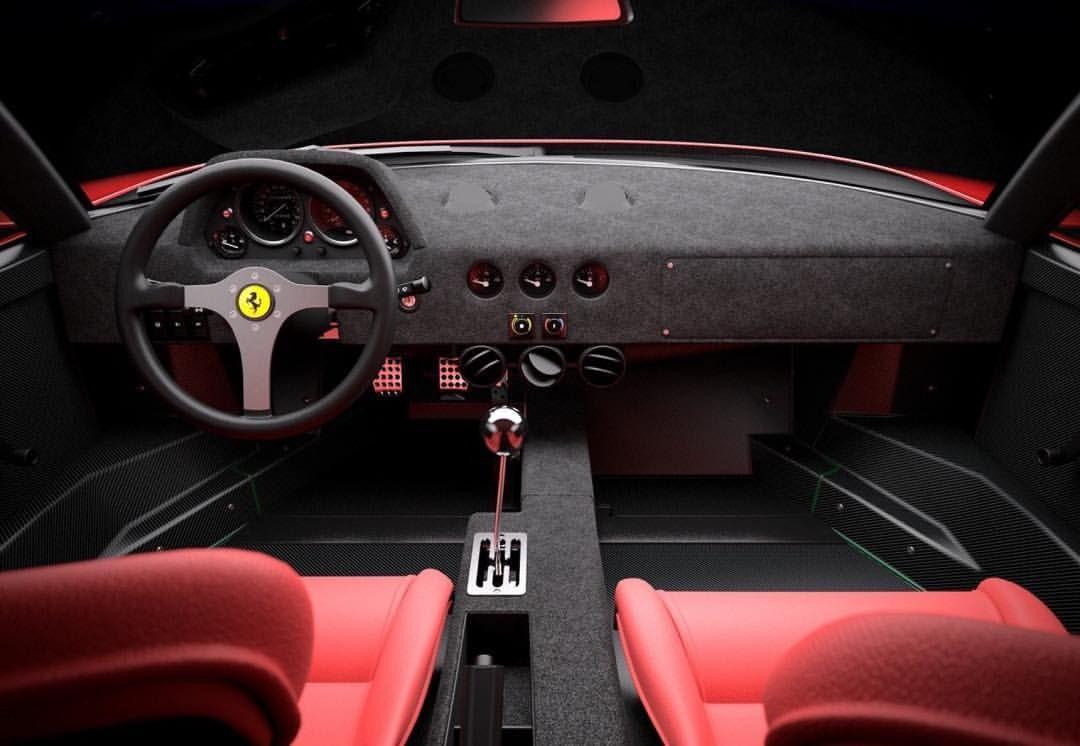 Pin by Morris Muriu on Ferrari f40