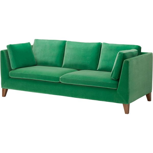 STOCKHOLM - IKEA/ Don't you think I NEED a velvet green couch?