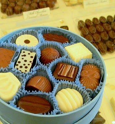 White and Milk Chocolate...