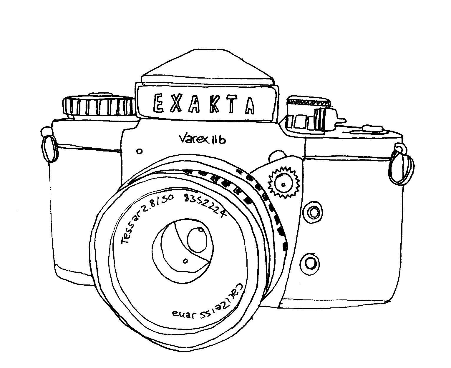 черно белый фотоаппарат распечатки блестящий