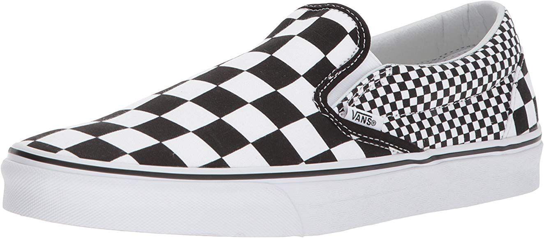 Amazon Com Vans Unisex Classic Slip On Perf Leather Black Mens 6 Womens 7 5 Medium Fashion Sneakers Sneakers Slip On Top Shoe Stores