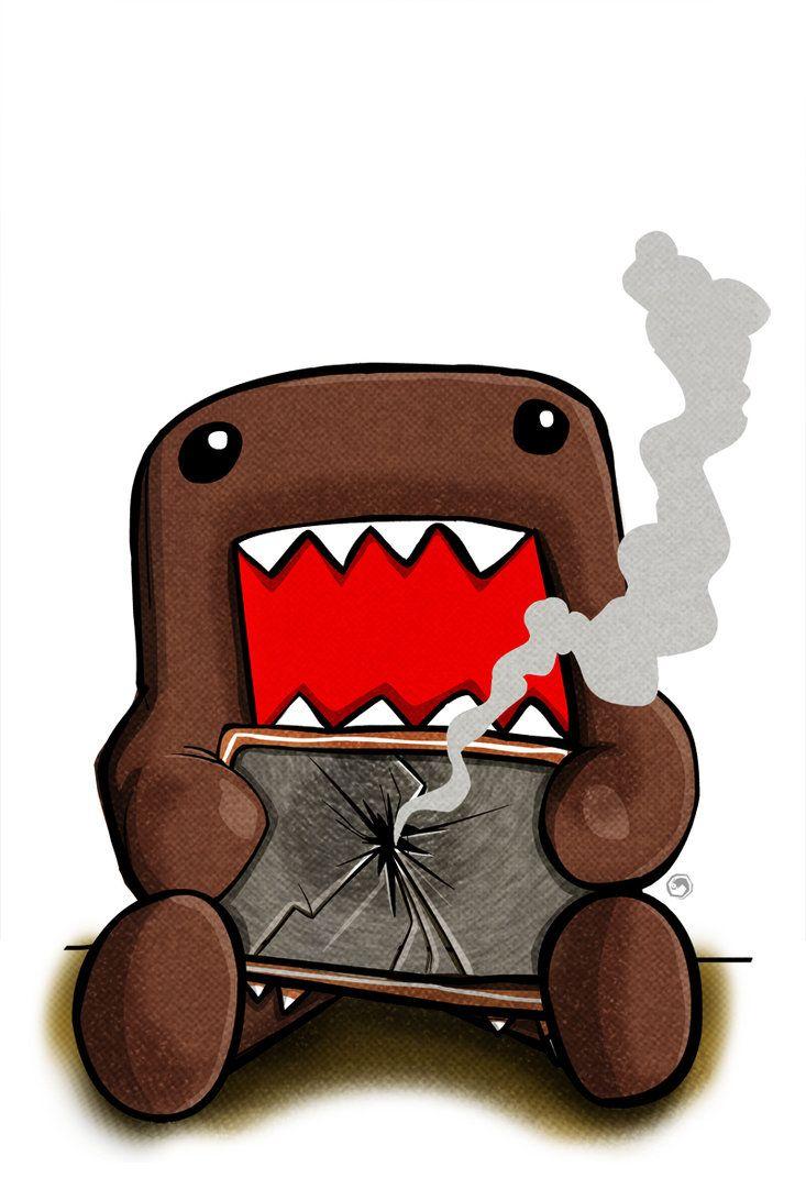 Domo Kun Jam By Specius On Deviantart Fun Illustration Ipad Mini Ipad