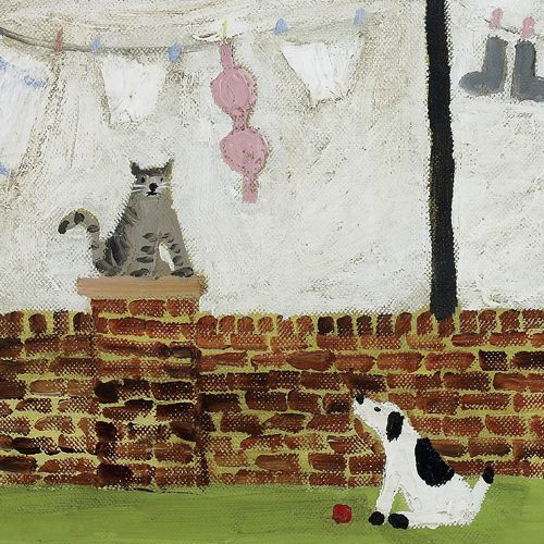 'Next Door's Cat' by Gary Bunt (gb1)
