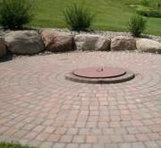 In Ground Fire Pit With Cover Landscaping In Ground Fire Pit