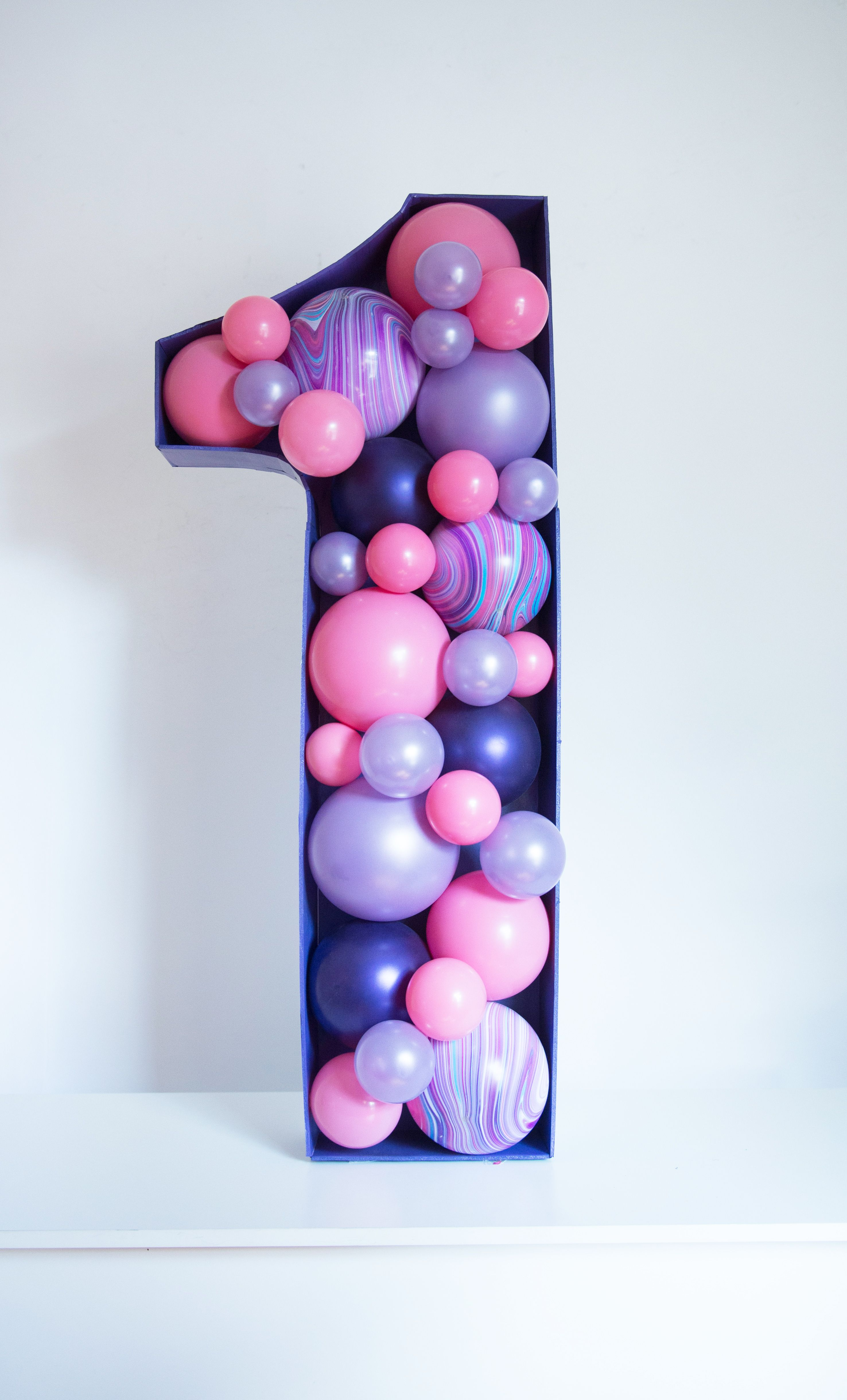 Balloon Numbers in 2020 Birthday balloon decorations