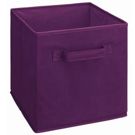 Closetmaid Dark Purple Fabric Drawer Fabric Storage Cubes Fabric Storage Bins Fabric Drawers
