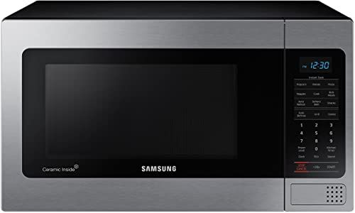 Buy Samsung Mg11h2020ct 1 1 Cu Ft Countertop Grill Microwave