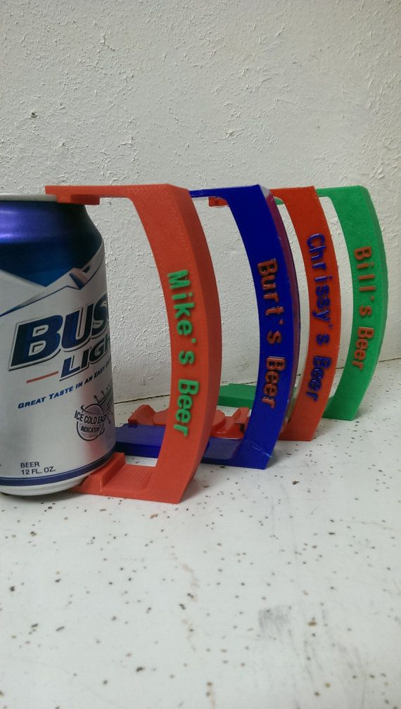 3d Printed Customized Can Handle By Funorders On Etsy Prints 3d Printing 3d Printing Projects