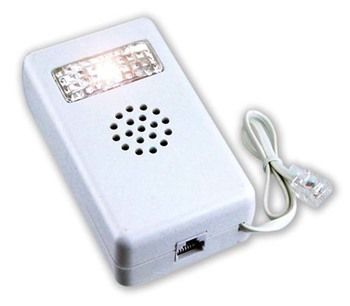 DOVETAIL Phone Amplified Ringer With Flashing Light for Hearing Impaired: PA-04664 : ( Pack of 1 Pc )