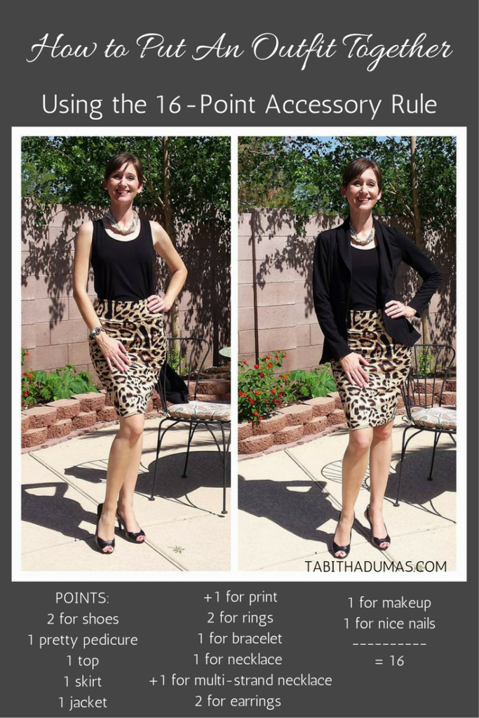 fb5f679c15d0 How to put outfits together - Tabitha Dumas