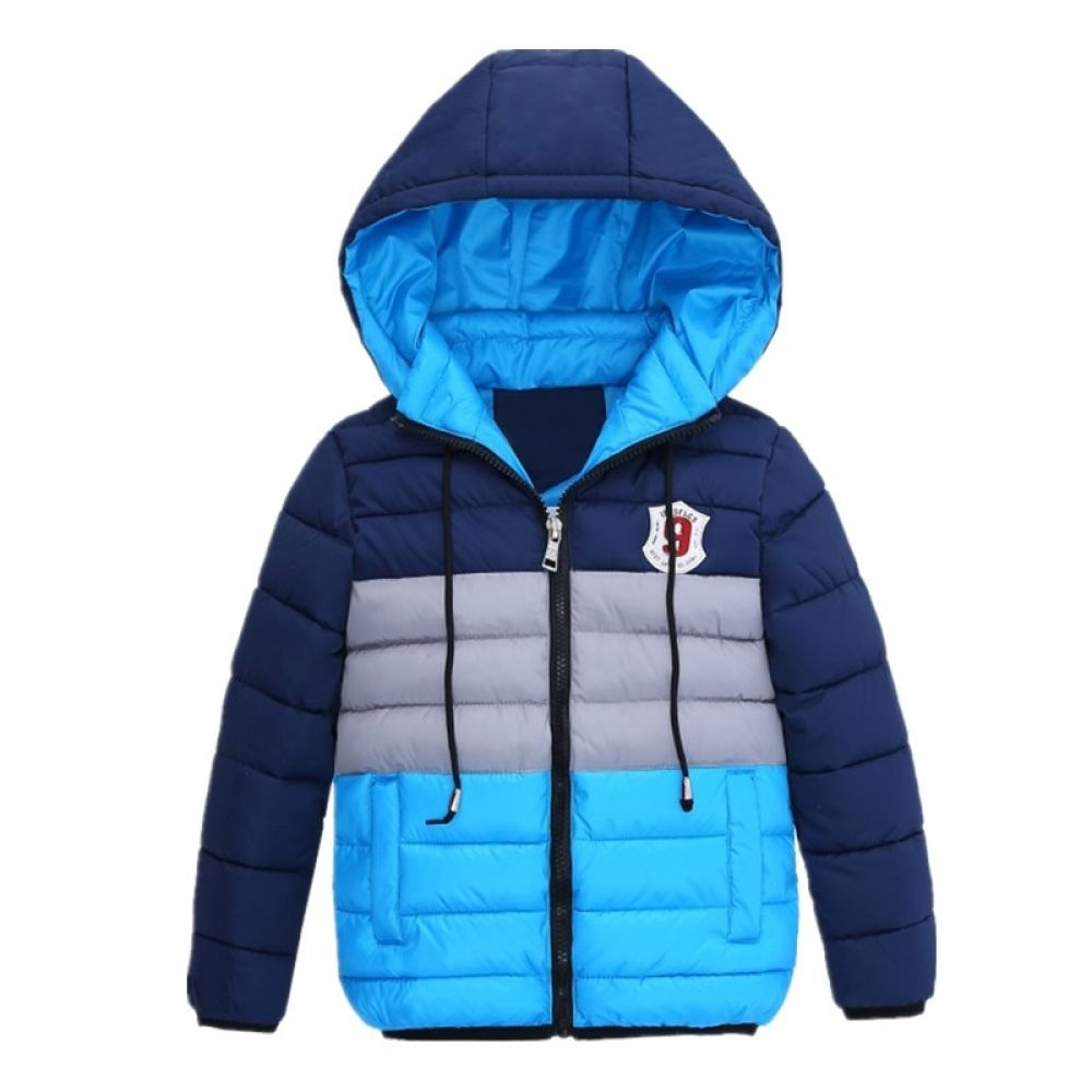 Lurryly❤Girls Boys Kids Winter Warm Coat Vest Zipper Thick Jacket Fall Hooded Outerwear 2-7T