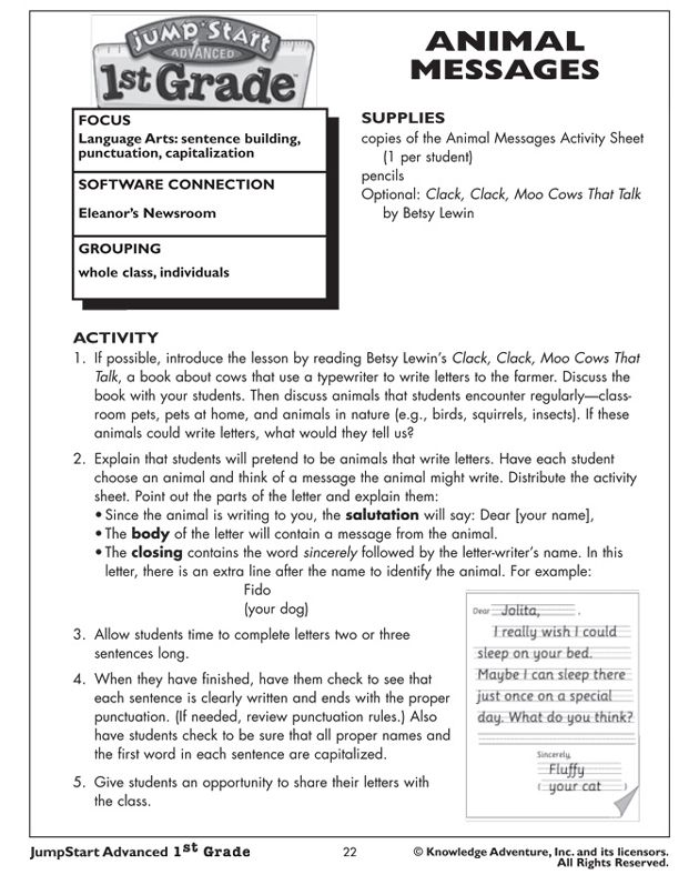 free english lesson plans for children
